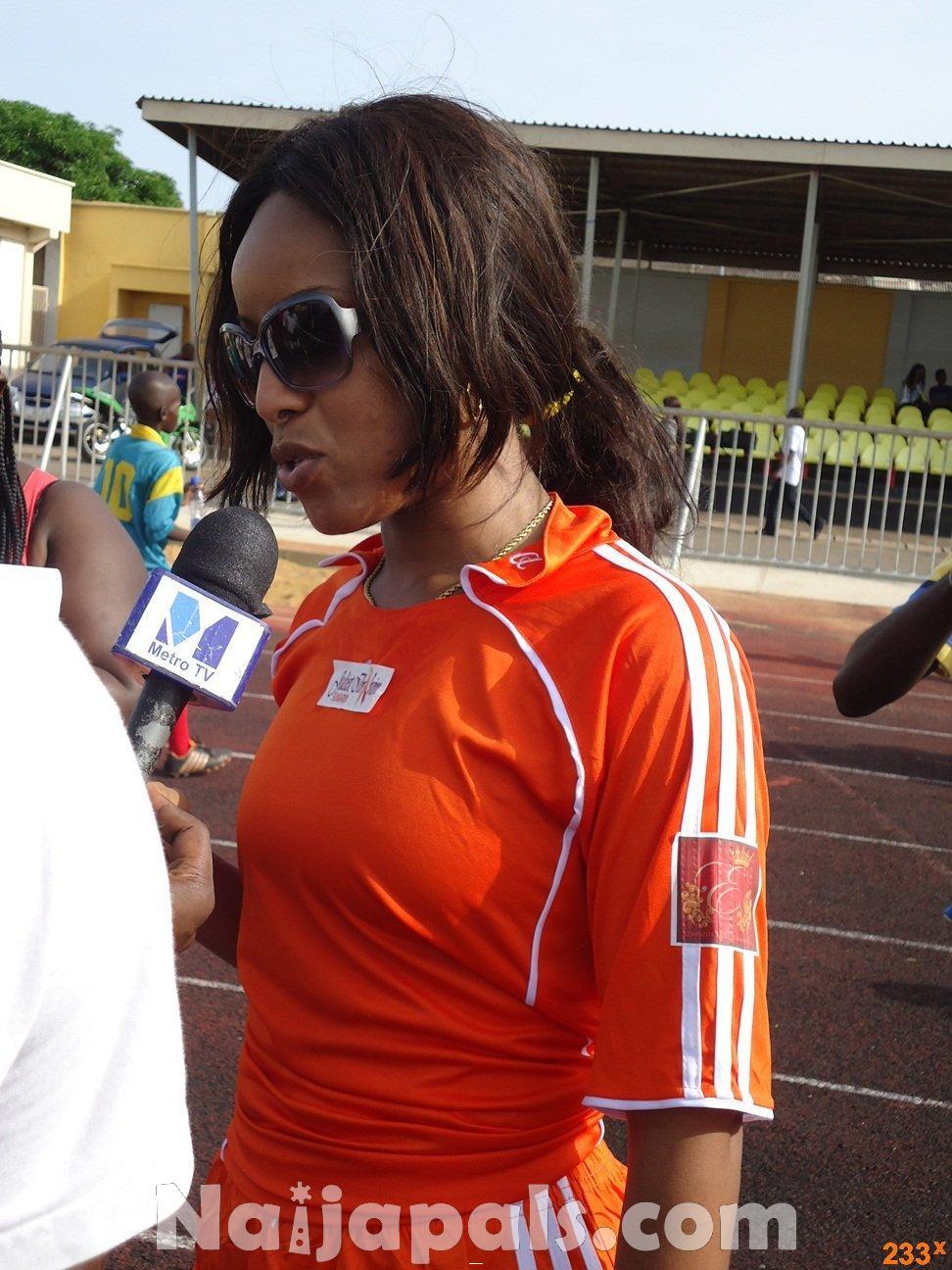 Ghana Female Celebrities Soccer Match 93