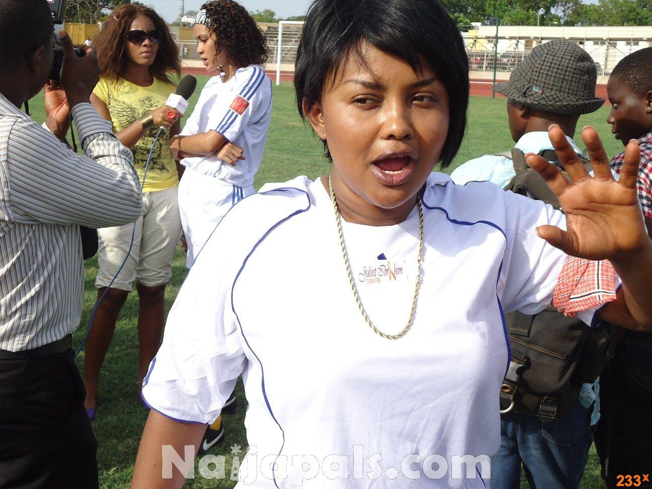 Ghana Female Celebrities Soccer Match 94