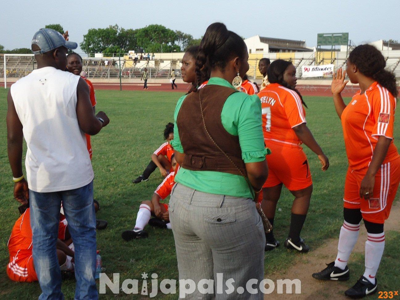 Ghana Female Celebrities Soccer Match 96
