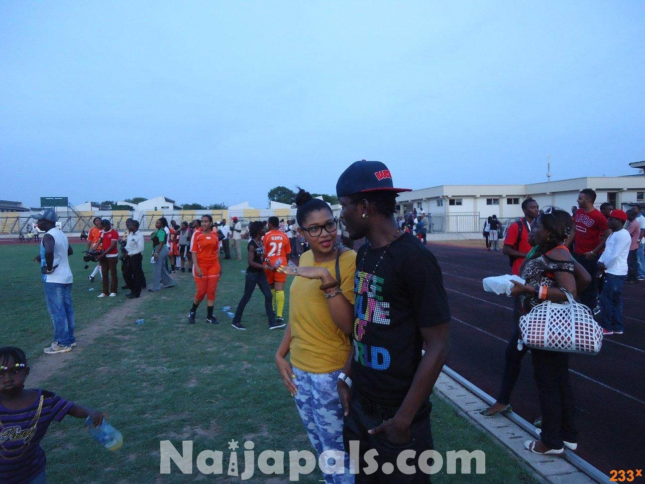 Ghana Female Celebrities Soccer Match 97