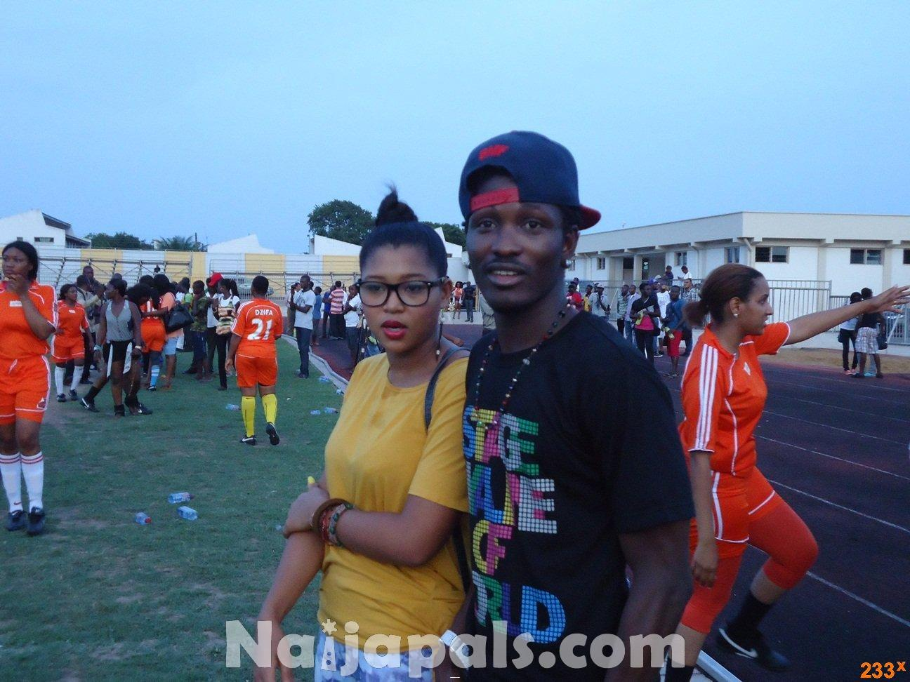 Ghana Female Celebrities Soccer Match 104