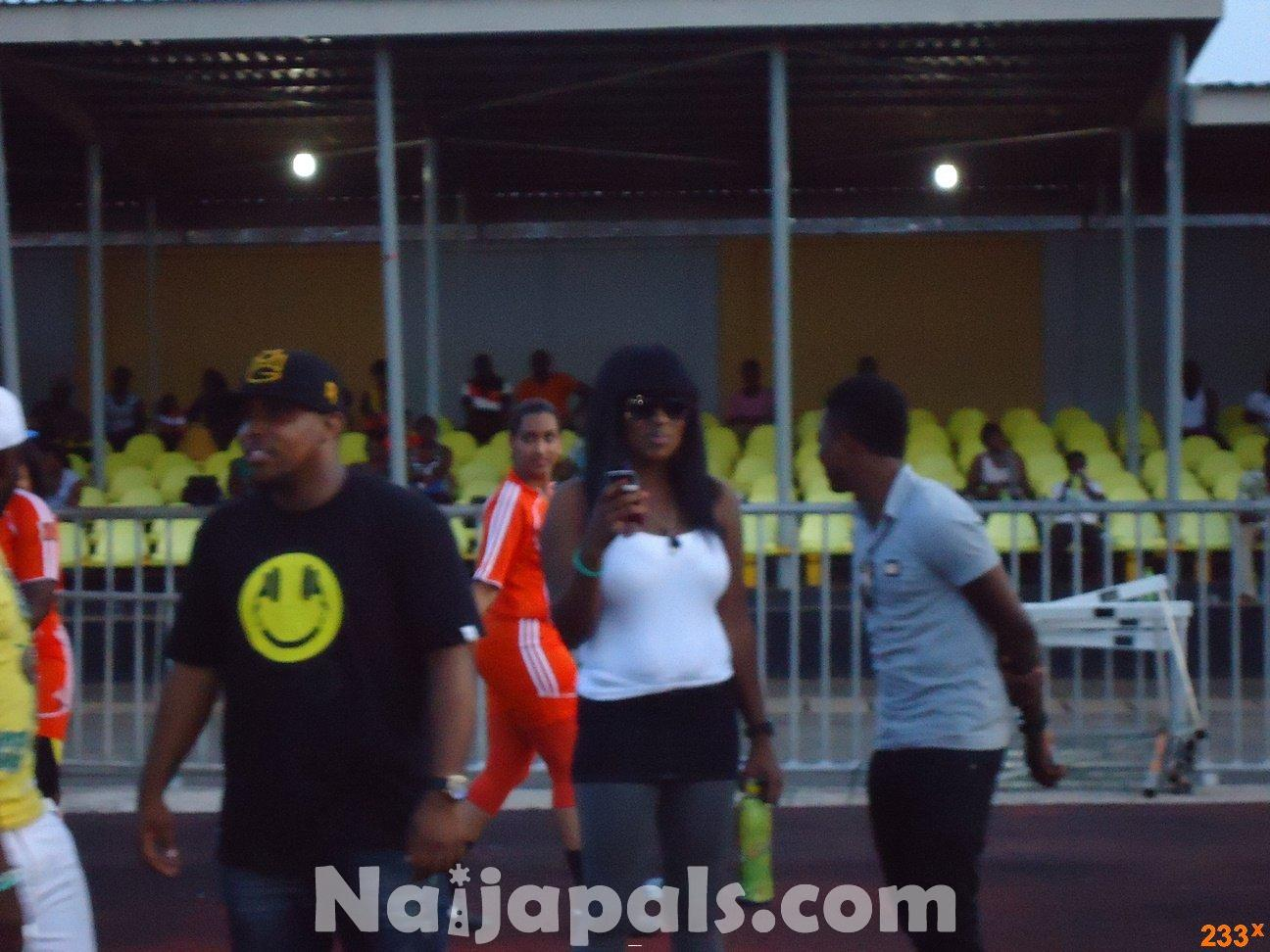Ghana Female Celebrities Soccer Match 118