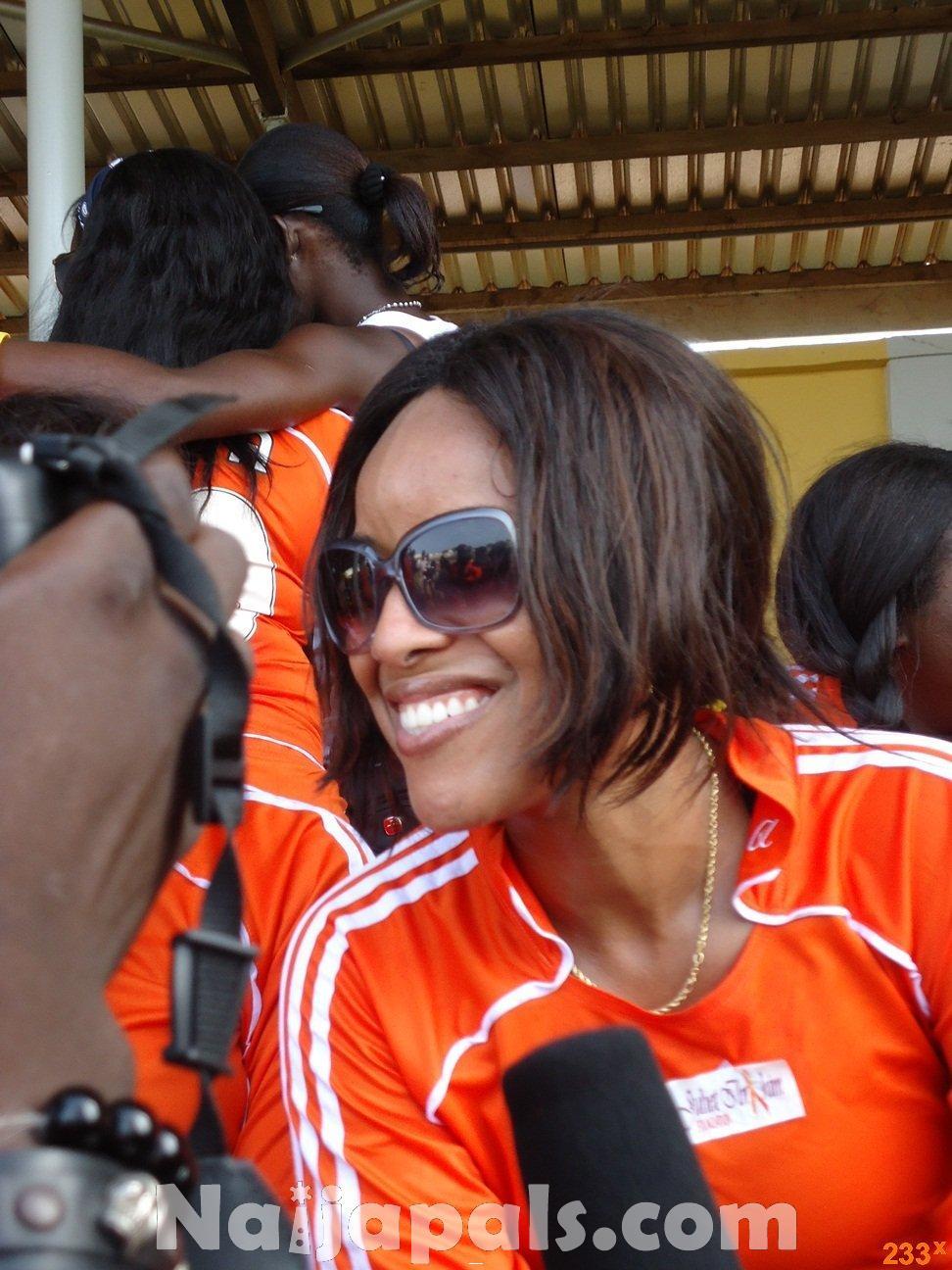 Ghana Female Celebrities Soccer Match 120