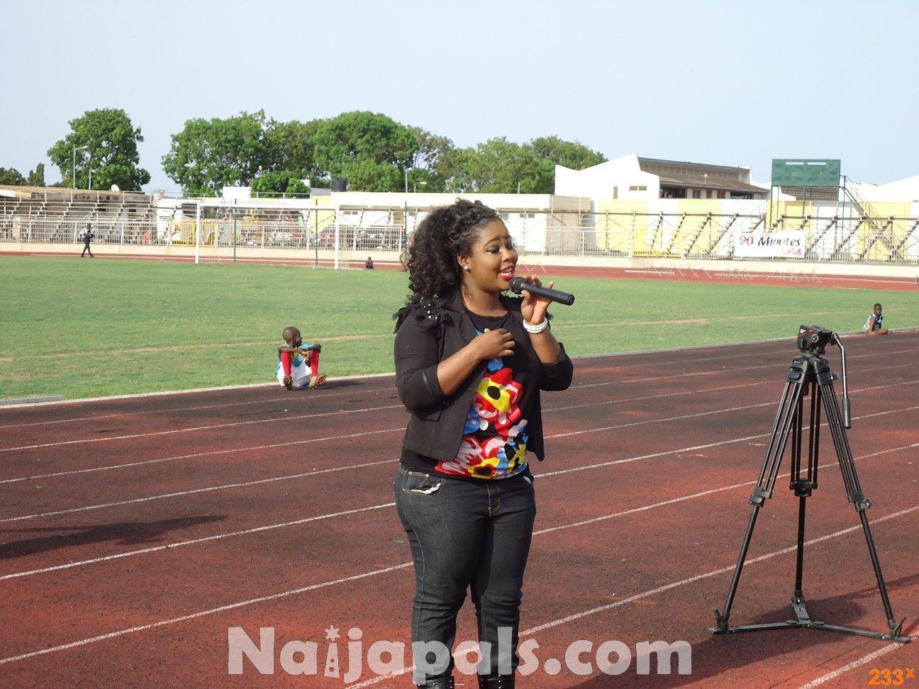 Ghana Female Celebrities Soccer Match 122