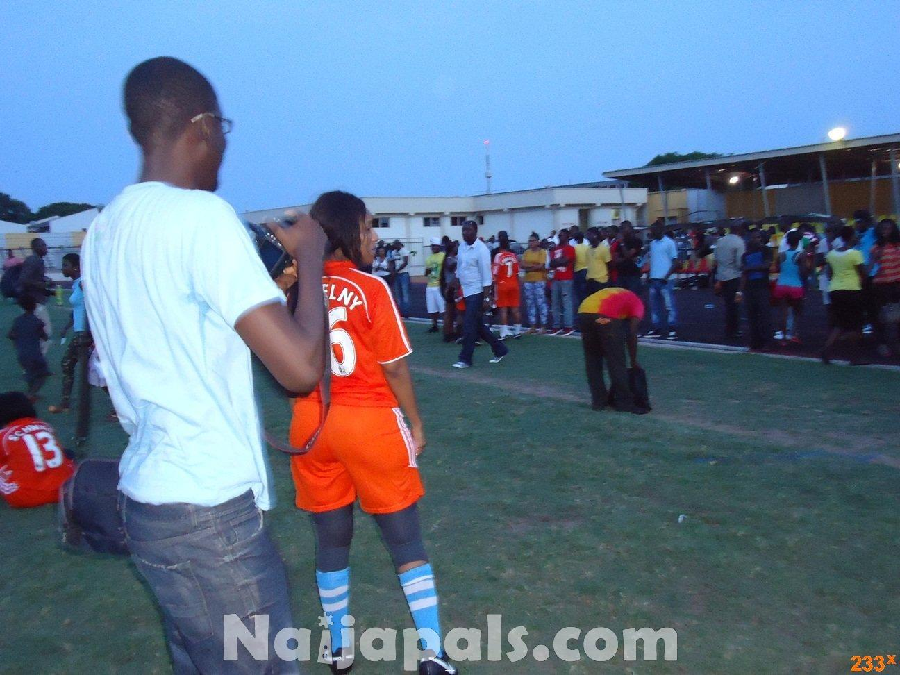 Ghana Female Celebrities Soccer Match 125