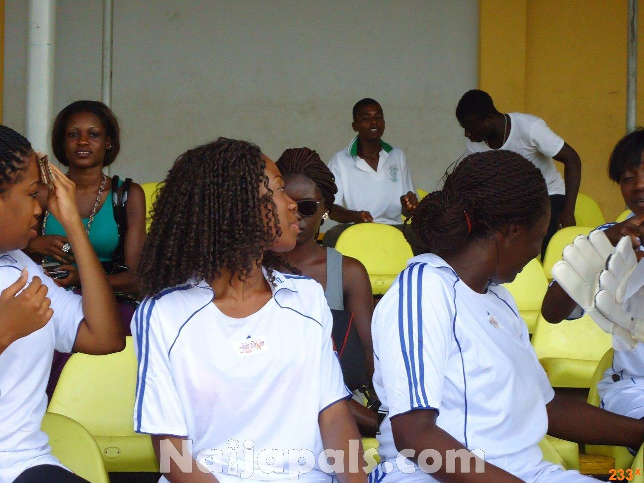 Ghana Female Celebrities Soccer Match 127