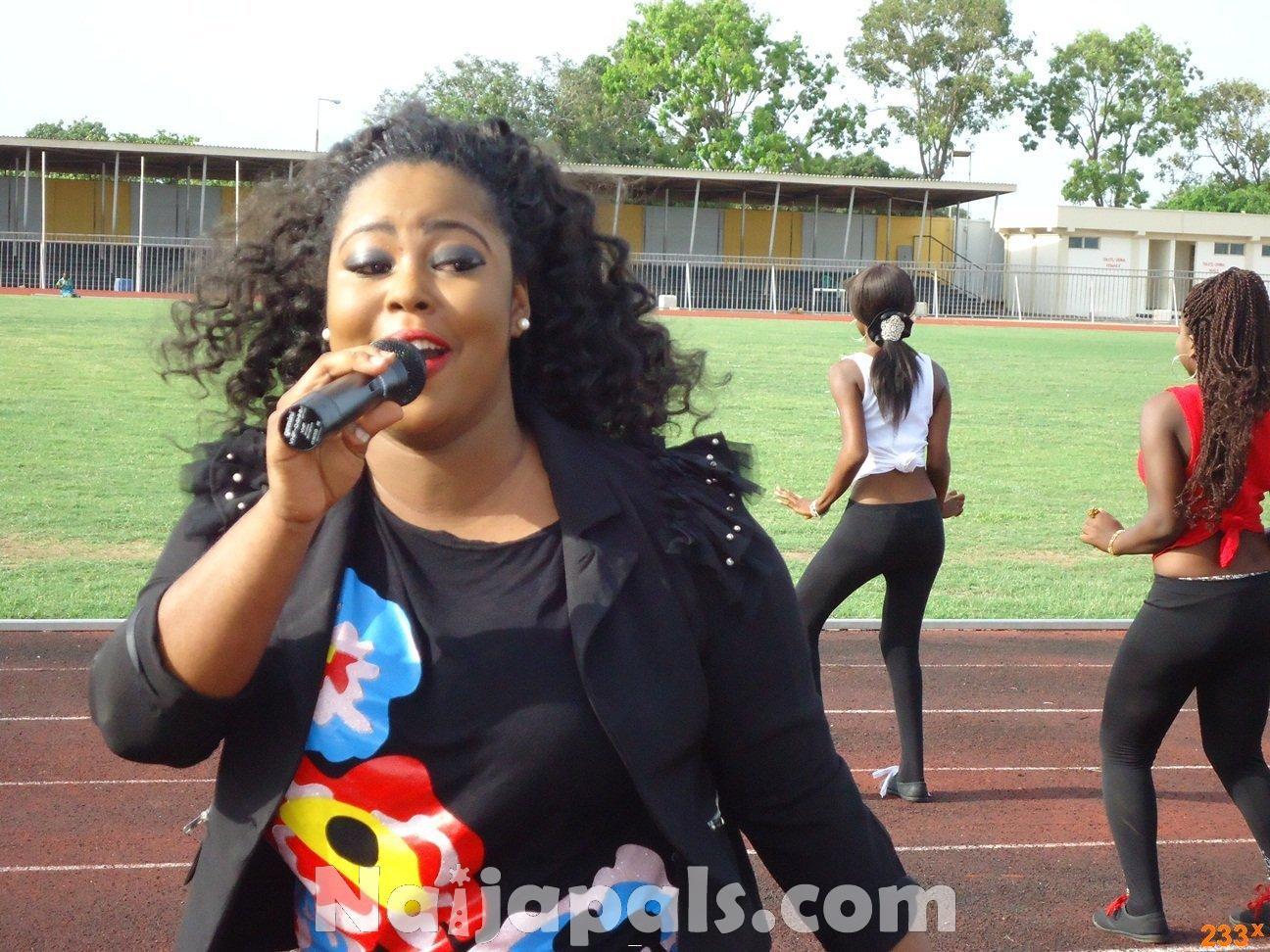 Ghana Female Celebrities Soccer Match 129