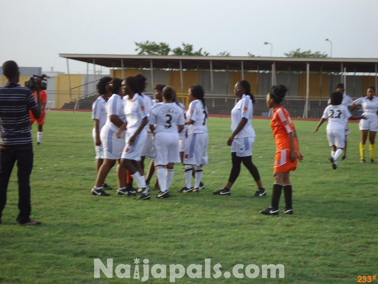 Ghana Female Celebrities Soccer Match 131