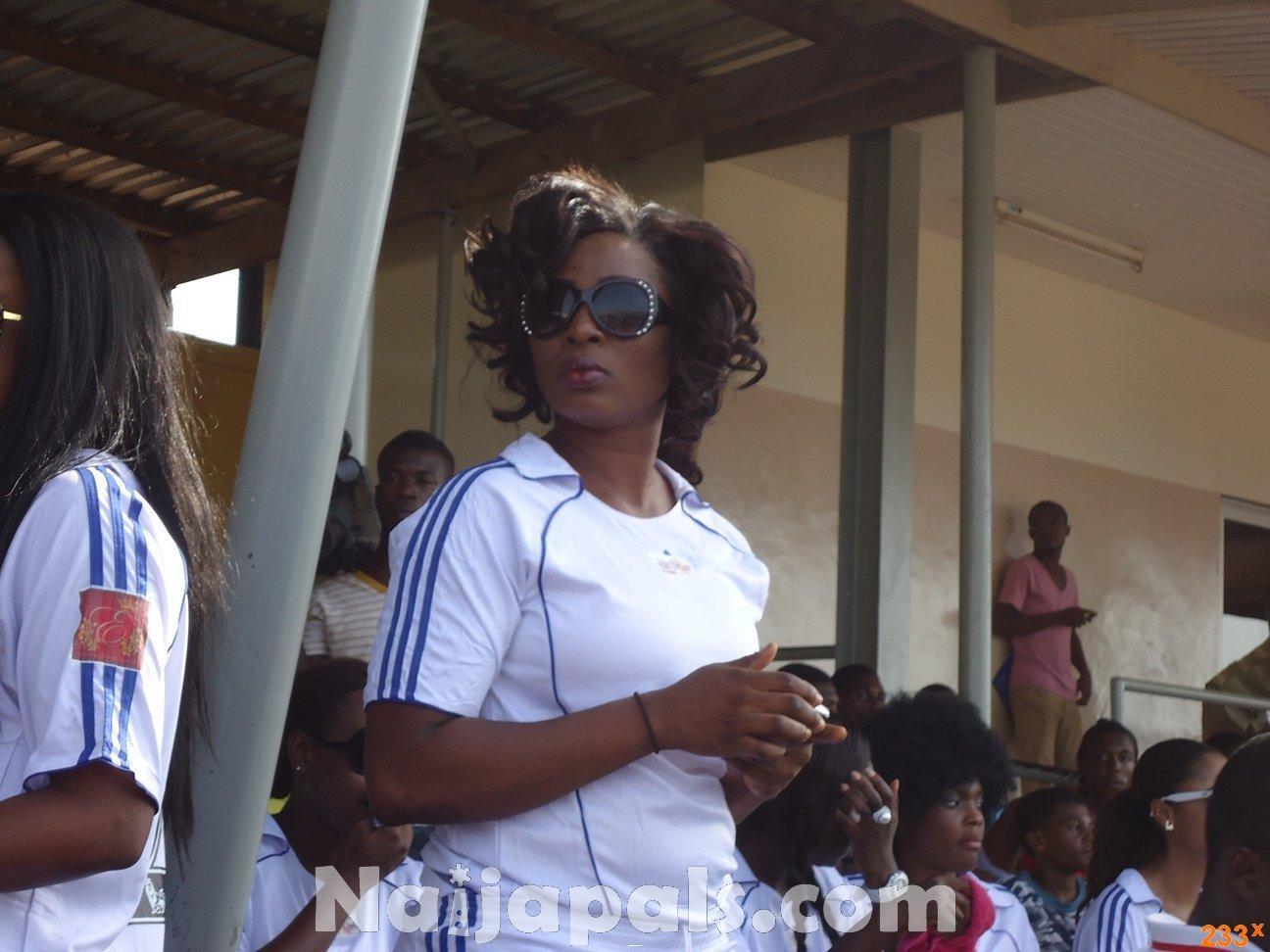Ghana Female Celebrities Soccer Match 134