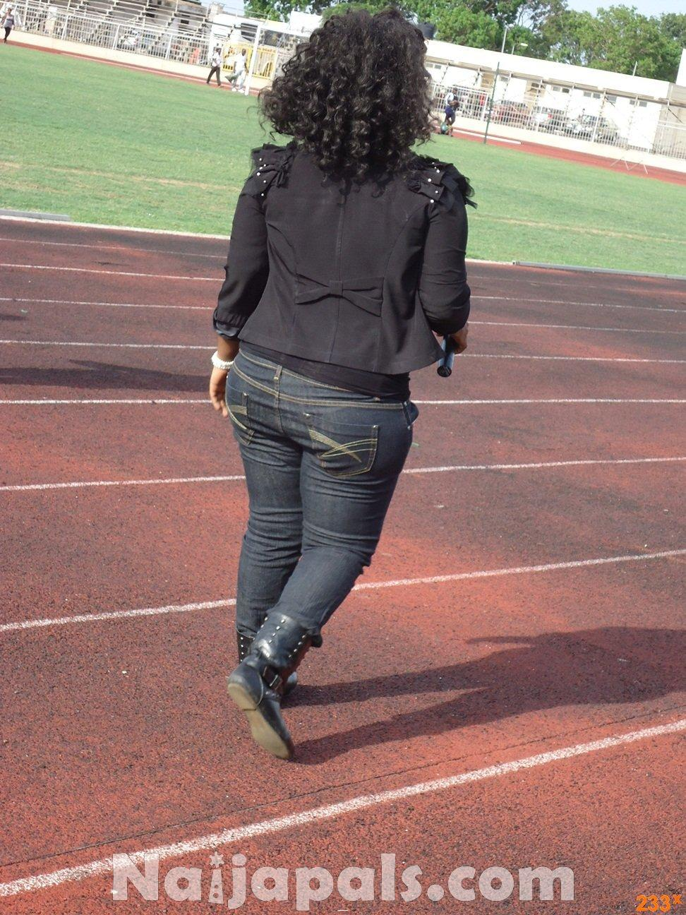Ghana Female Celebrities Soccer Match 136