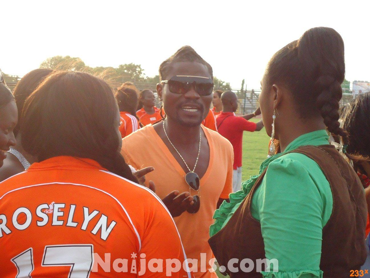 Ghana Female Celebrities Soccer Match 138