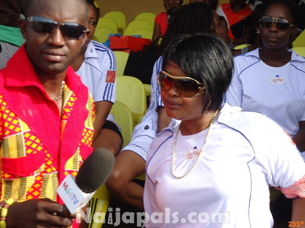 Ghana Female Celebrities Soccer Match 141