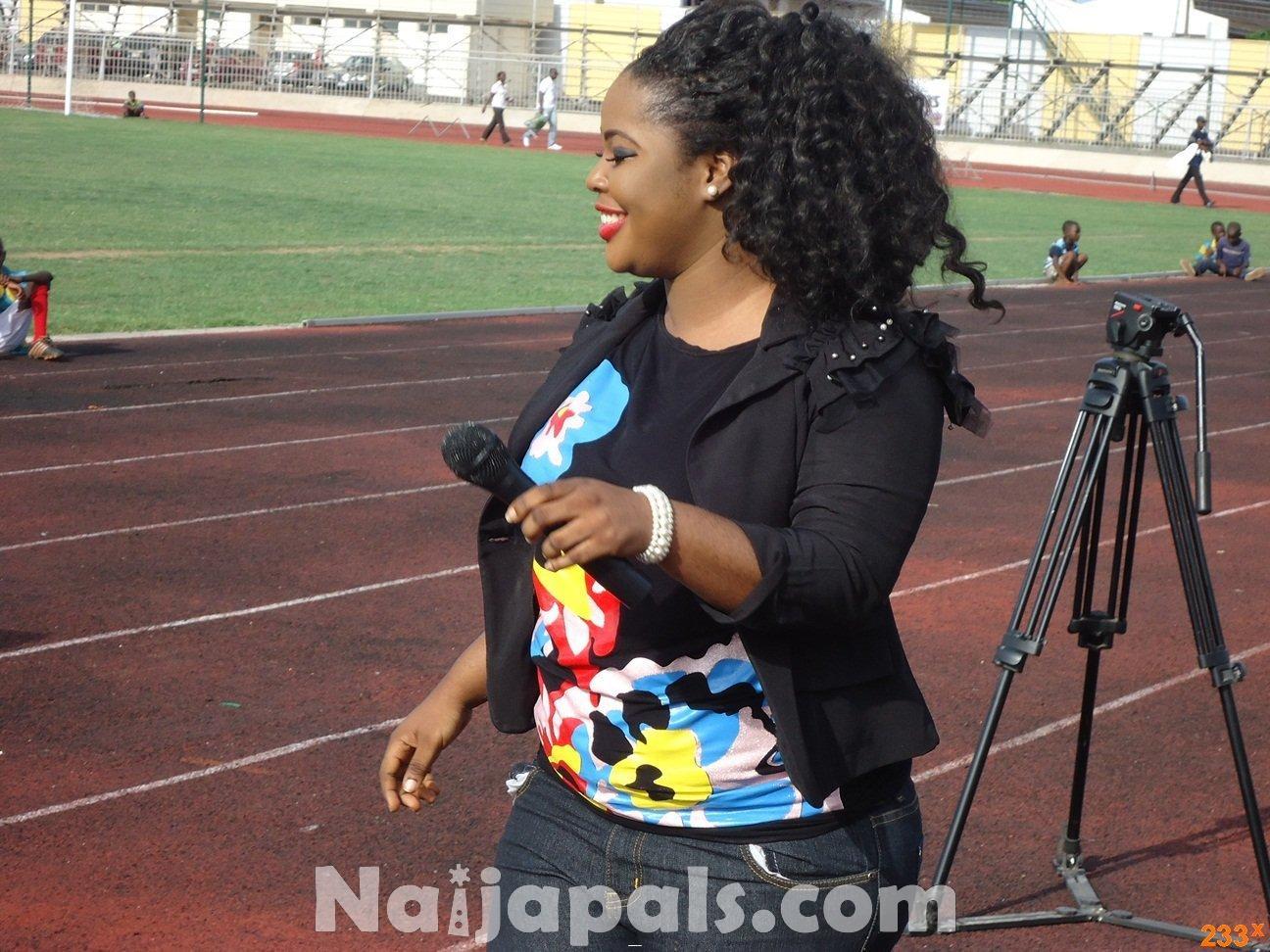 Ghana Female Celebrities Soccer Match 143