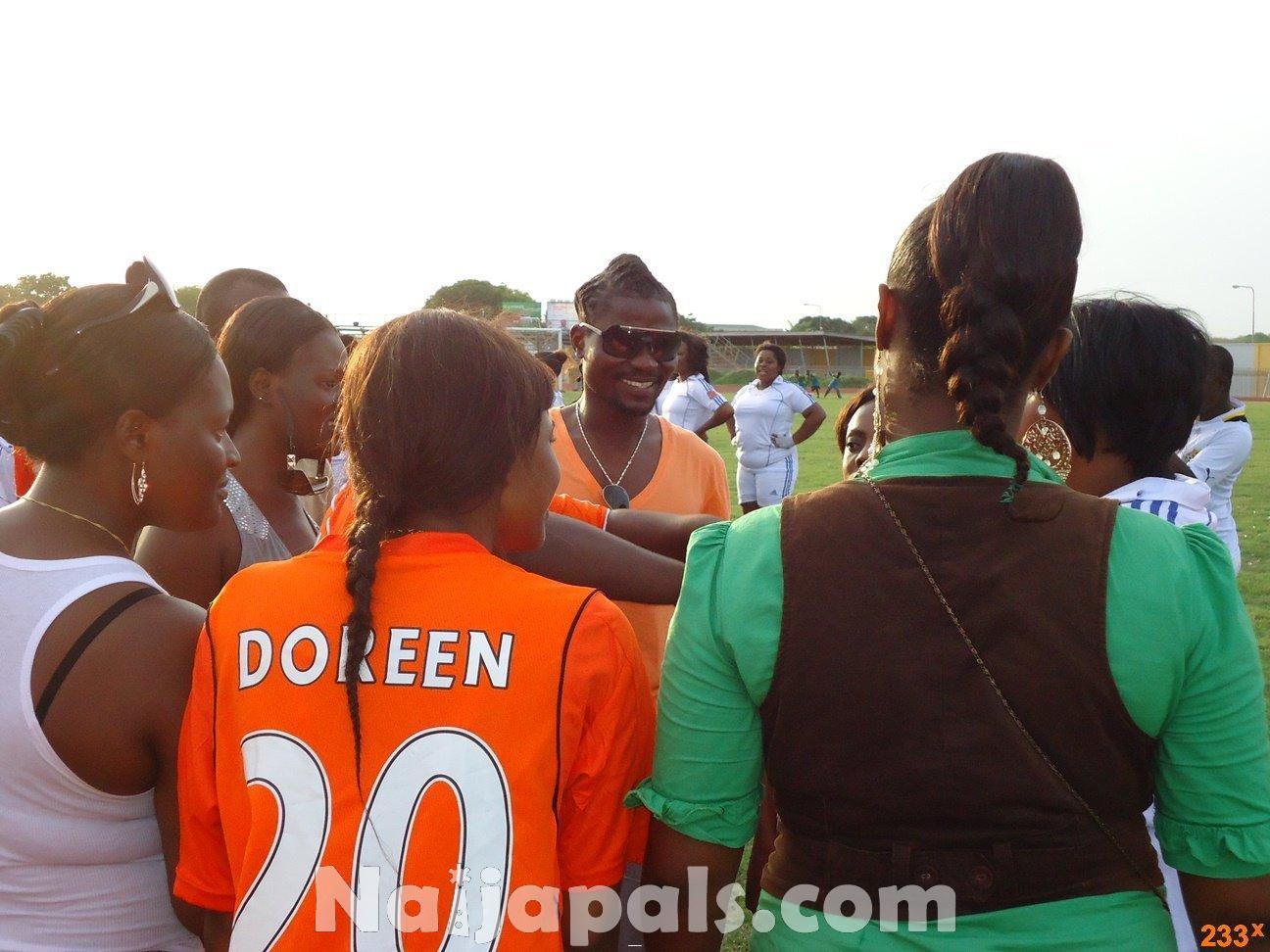 Ghana Female Celebrities Soccer Match 145