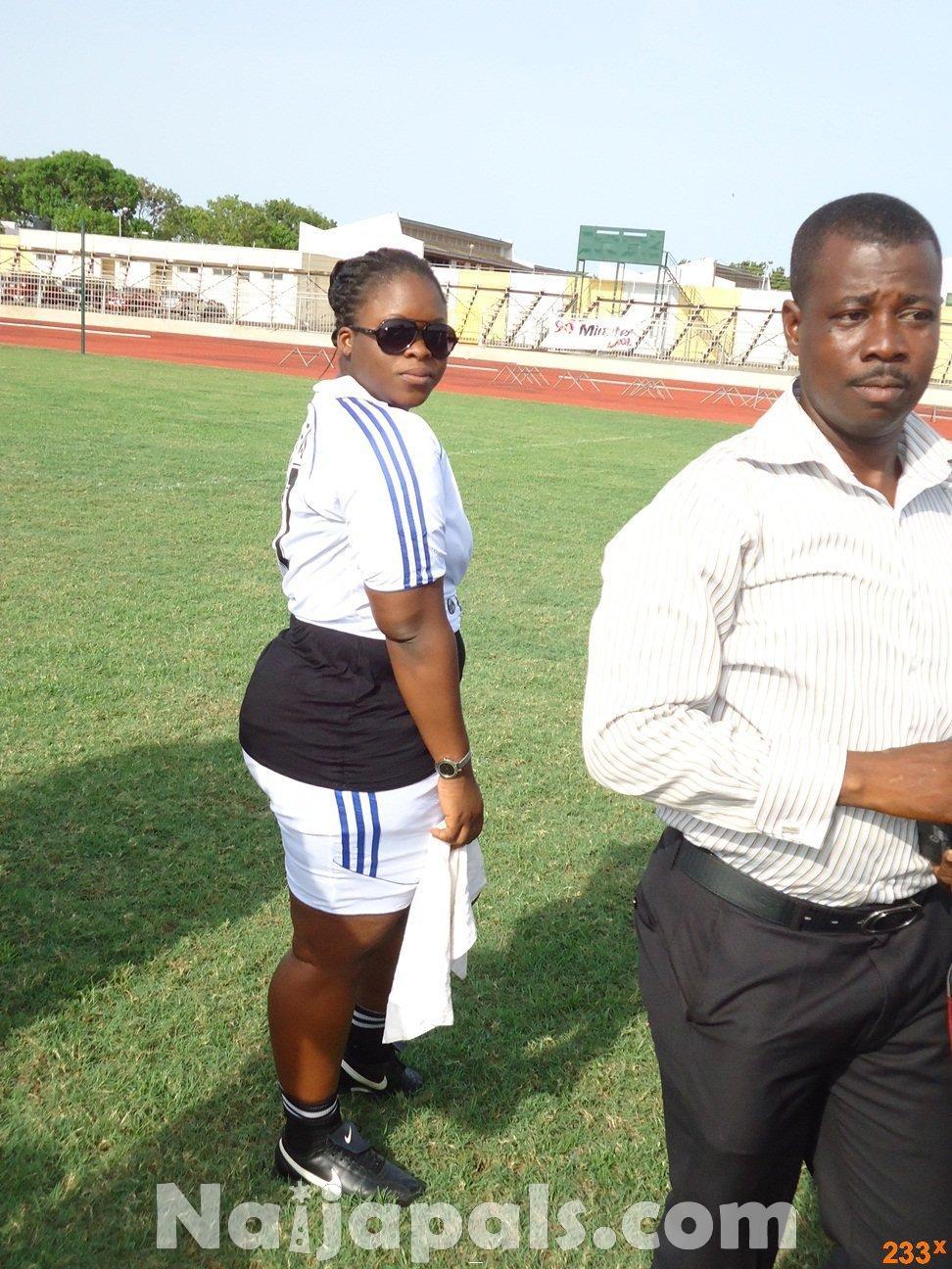 Ghana Female Celebrities Soccer Match 14