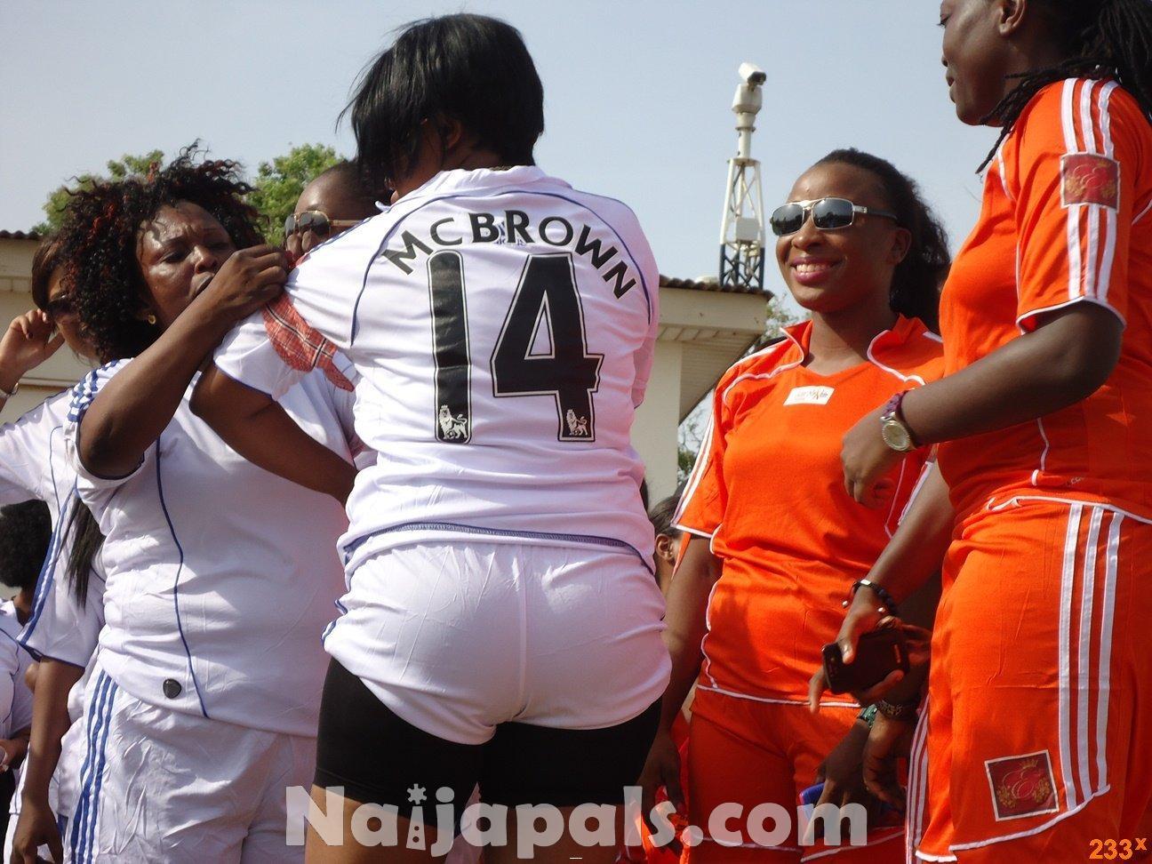 Ghana Female Celebrities Soccer Match 28